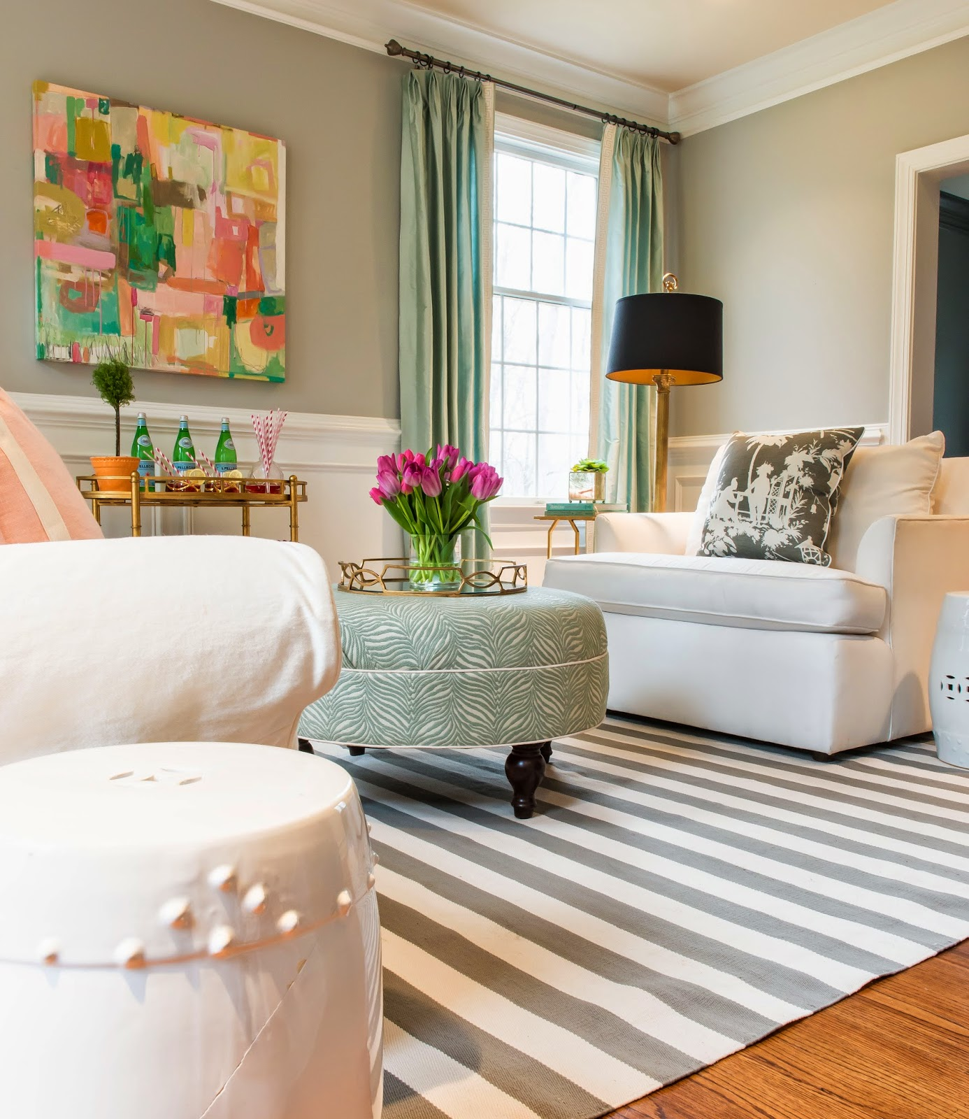Living Room Designs 2014: Stephanie Kraus Designs: My Living Room ... Ready For Spring