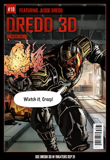 comic cover from Dredd 3D
