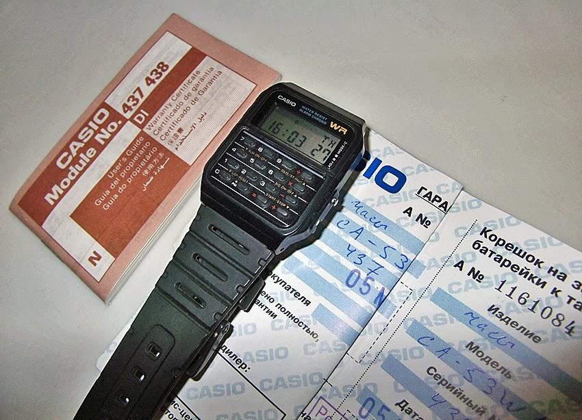 casio calculator watch instructions