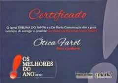 MELHORES DO ANO 2012