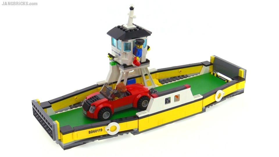 Lego City 2016 Ferry Review Set 60119