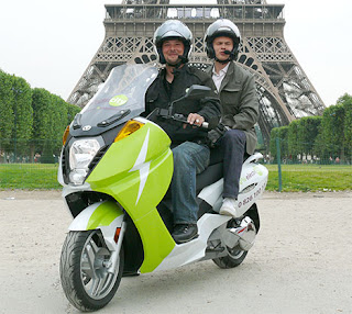 taxi paris Vectrix electric scooter for sale