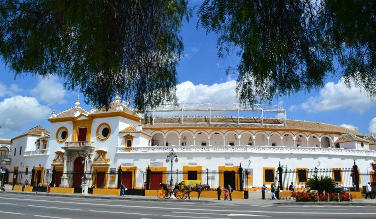 seville sevilla bull ring plaza de toros