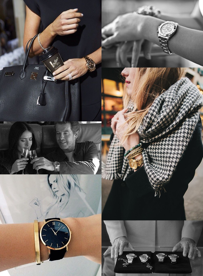 ladies rolex aimerose fashion blog