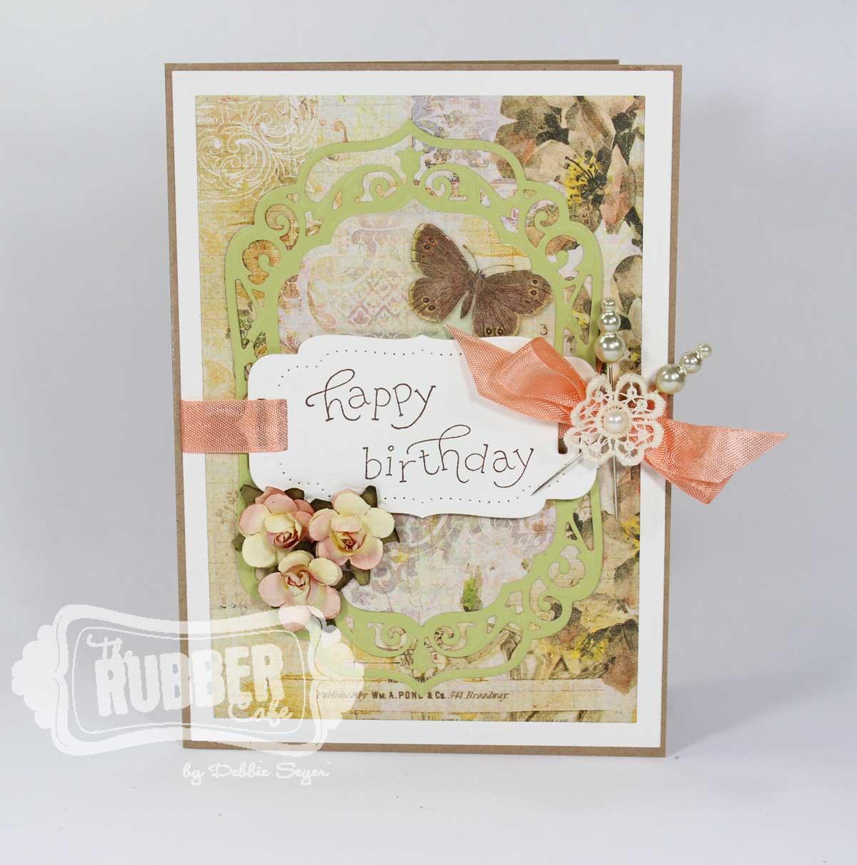 elegant happy birthday cards