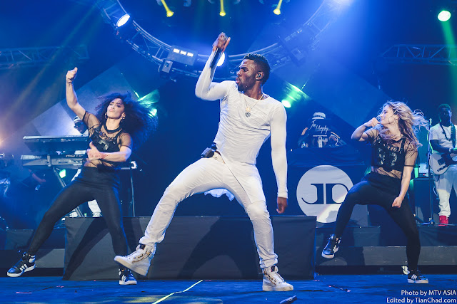 Jason Derulo performing at MTV World Stage Malaysia 2015 on 12 Sep Pic 2 (Credit - MTV Asia & Aloysius Lim)