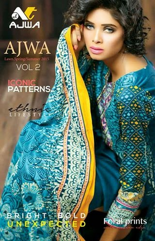 Latest Spring Lawn Collection 2015