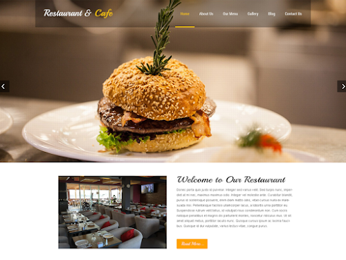 Download Tema WordPress Restaurant Lite