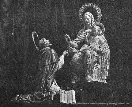 Comunidad valenciana arte y memoria imaginer a valenciana nuestra se ora del rosario con - Vicente navarro valencia ...
