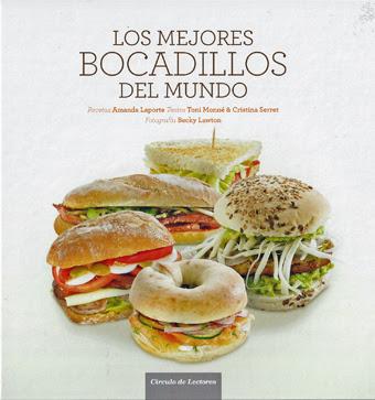 Libros de cocina y gastronom a los mejores bocadillos del for Los mejores libros de cocina