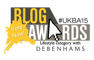 UK Blog Awards - Vote Now!
