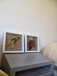 DIY cuadro de lego