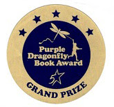 Nate Rocks the World was named the Grand Prize winner of the 2012 Purple Dragonfly Book Awards!