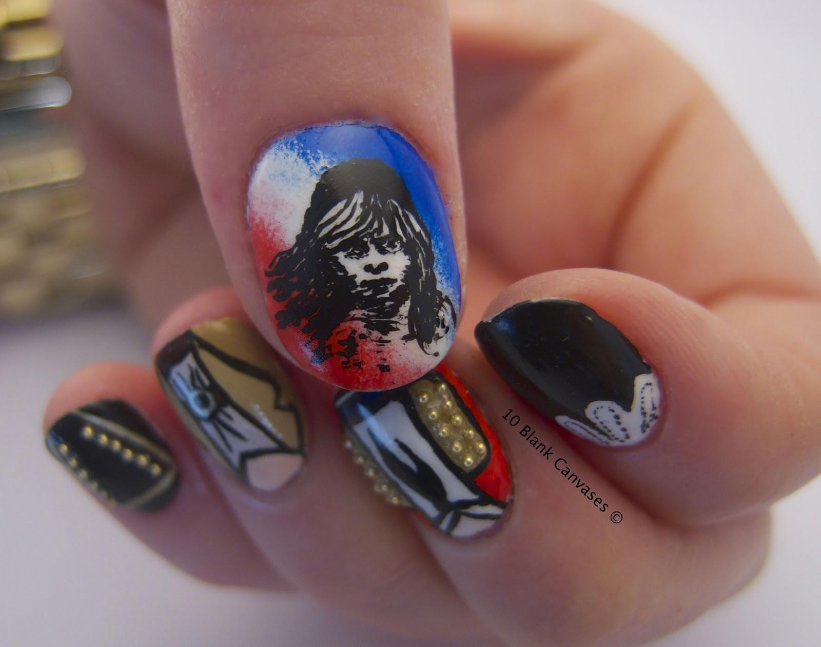 Les Misérables ... now on your Nails! / guiltless reading
