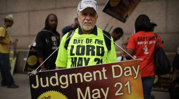 judgment day billboard. gone and no judgment day,