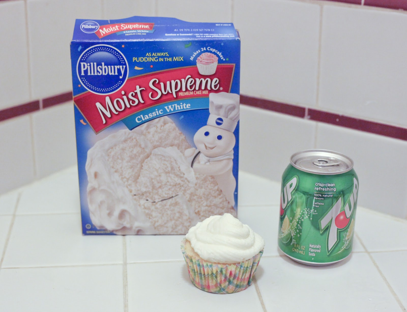 Cake Mix And Soda