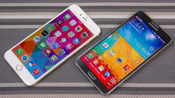 Apple iPhone 6 Plus vs. Samsung Galaxy Note 3