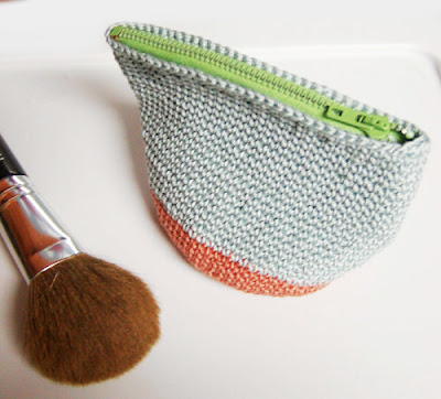 free crochet cotton pouch pattern