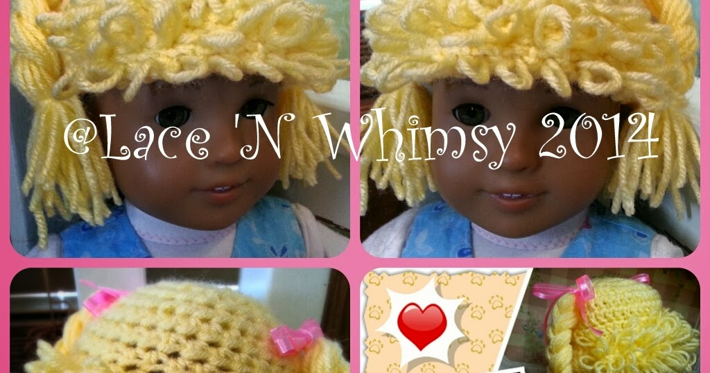 Crochet Cabbage Patch Hats Pattern Video Tutorial