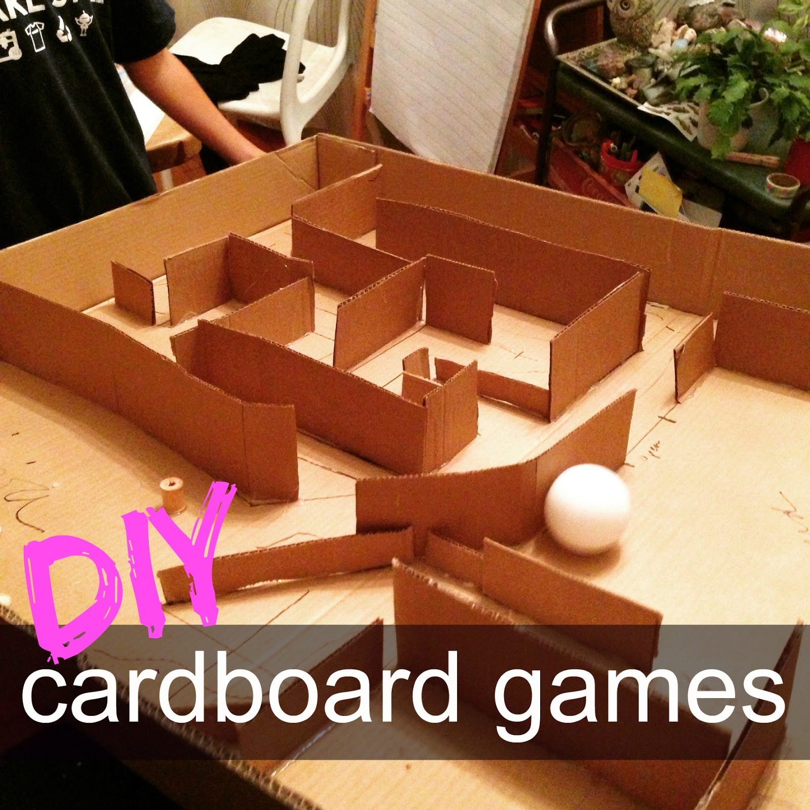 Cardboard Games Part - 37: {make} Diy Cardboard Games