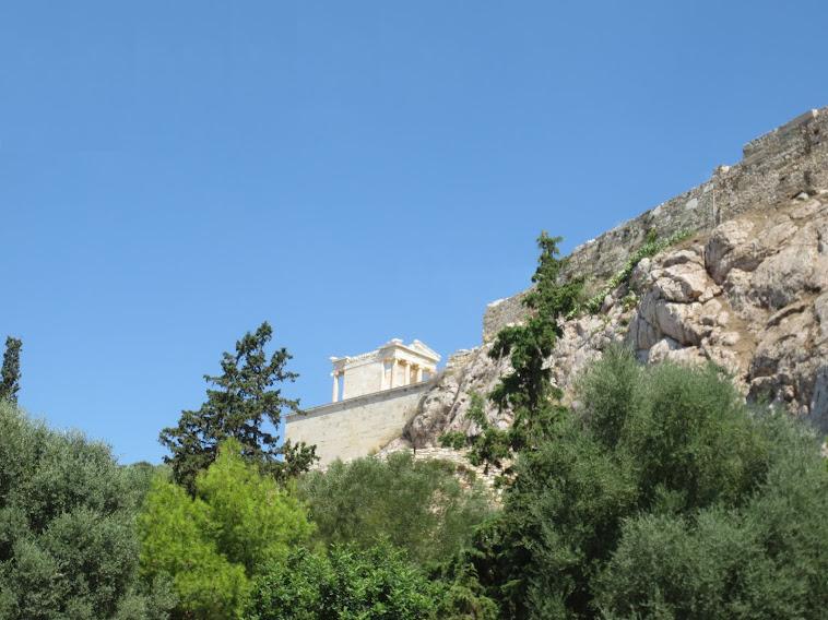 ναός της  Απτέρου Νίκης...!!!