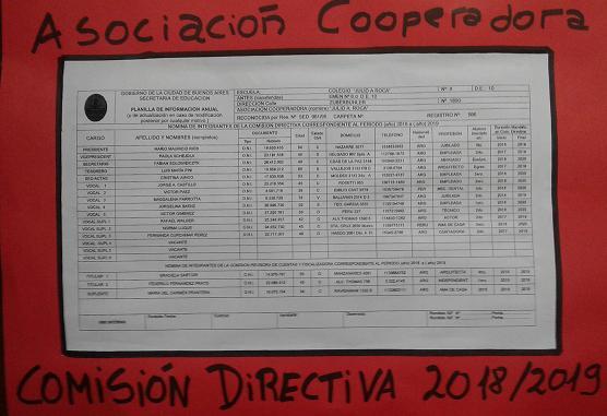 ASOCIACIÓN COOPERADORA