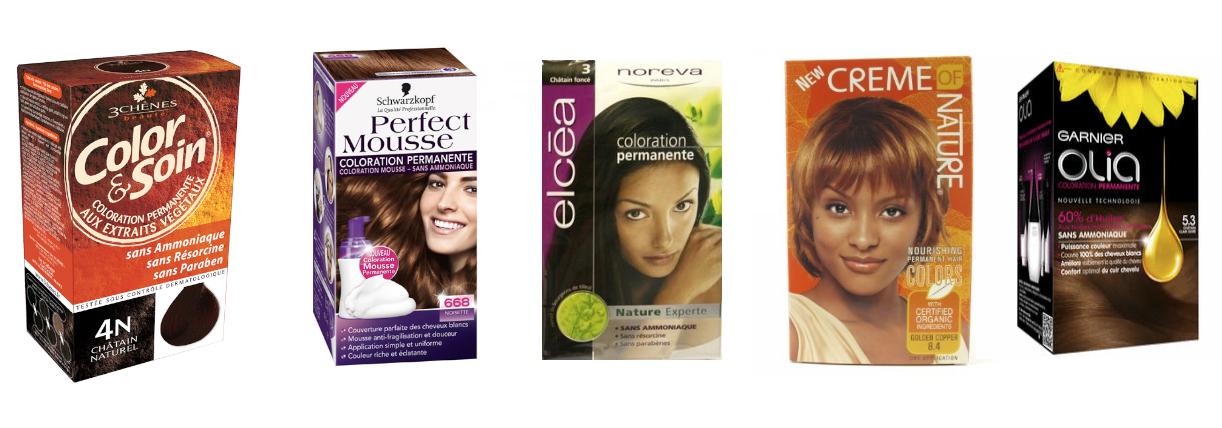 coloration cheveux sans ammoniaque et sans oxydant - Shampoing Colorant Sans Ammoniaque
