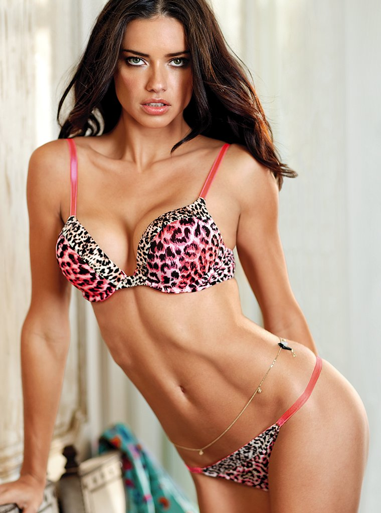 all hollywood celebrities  adriana lima profile and hot