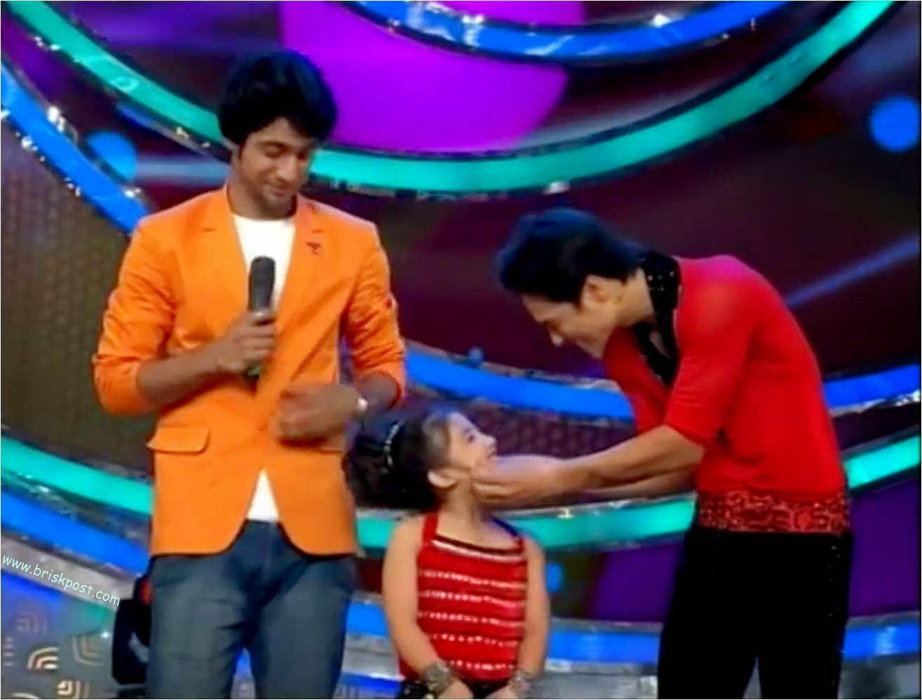 Sanam, Anushka and Dheeraj on dance show DID Little Masters