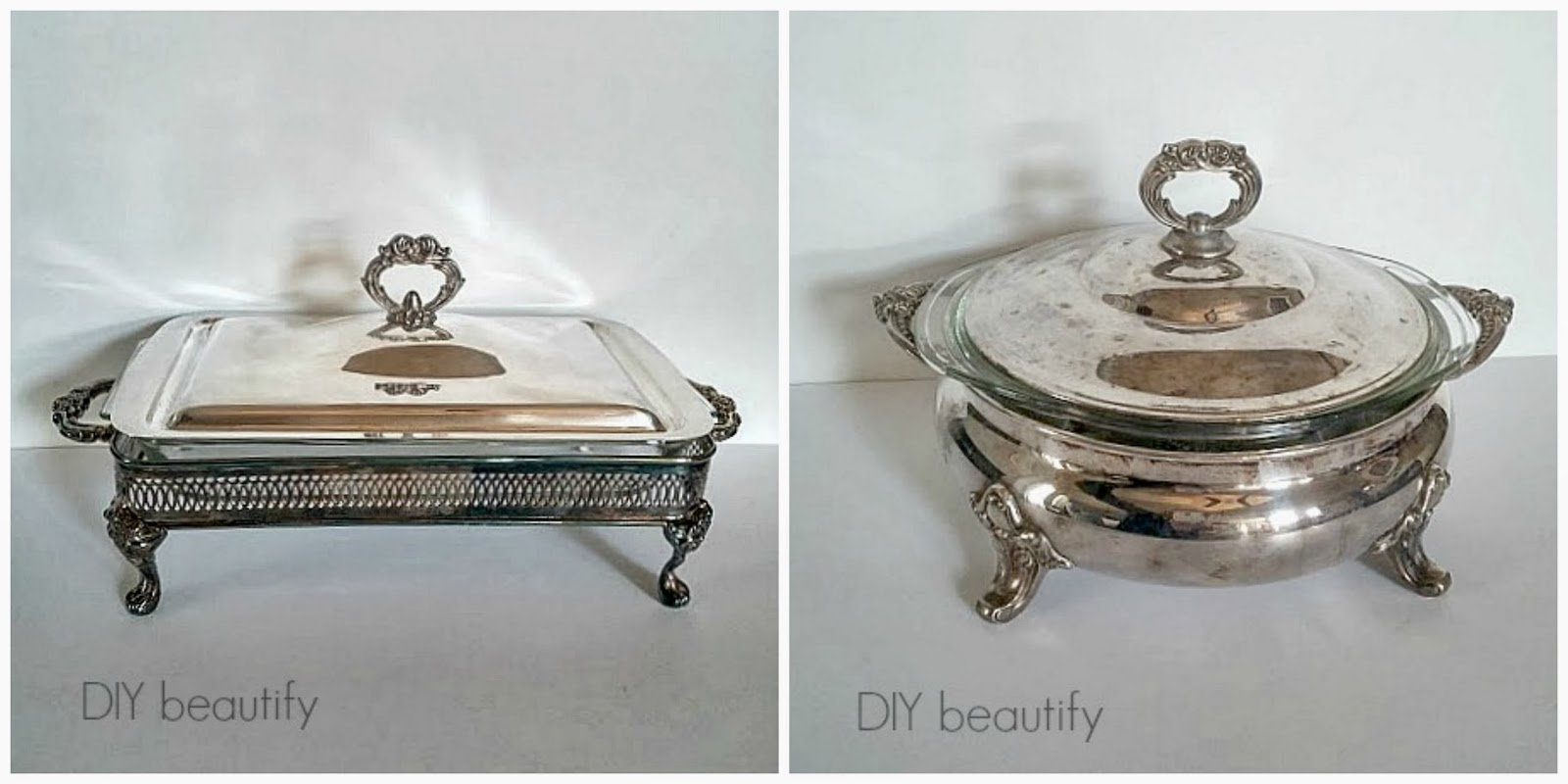 Cleaning vintage silver