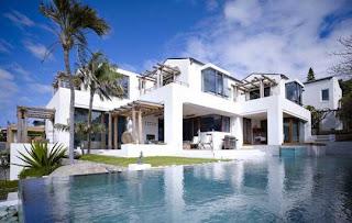 Casa de playa con vistas al mar