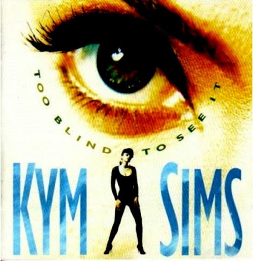 Retro disco hi nrg kym sims 39 too blind to see it 39 cd for Piano dance music 90 s