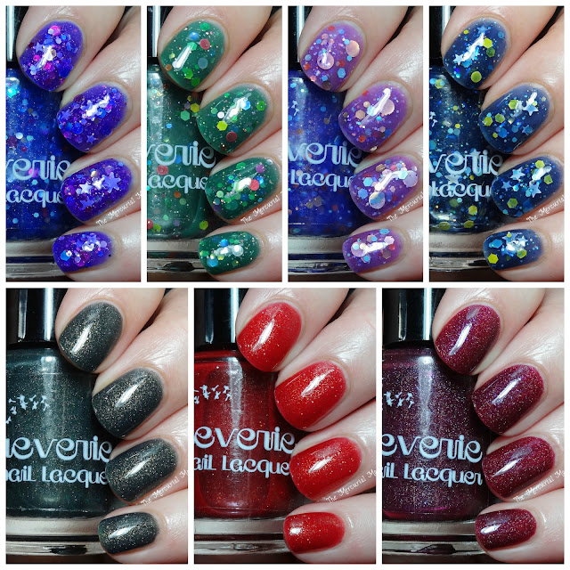 Reverie Nail Lacquer Winter Collection Swatches