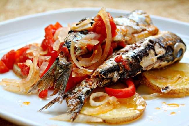 Mis recetas comida hecha en casa receta de sardina en - Como cocinar sardinas ...