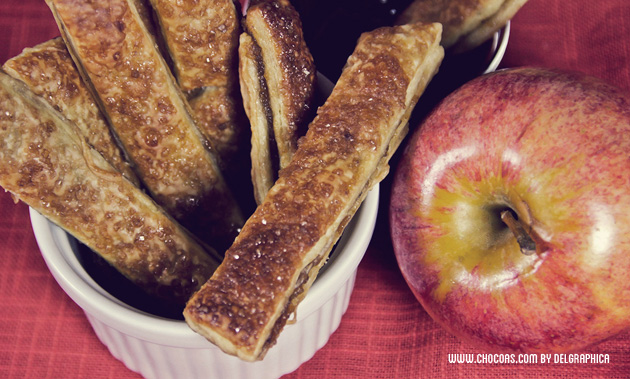 tarta manzana snacks