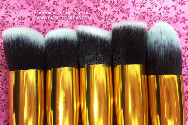 Conjunto de pincéis de maquiagem completo AliExpress