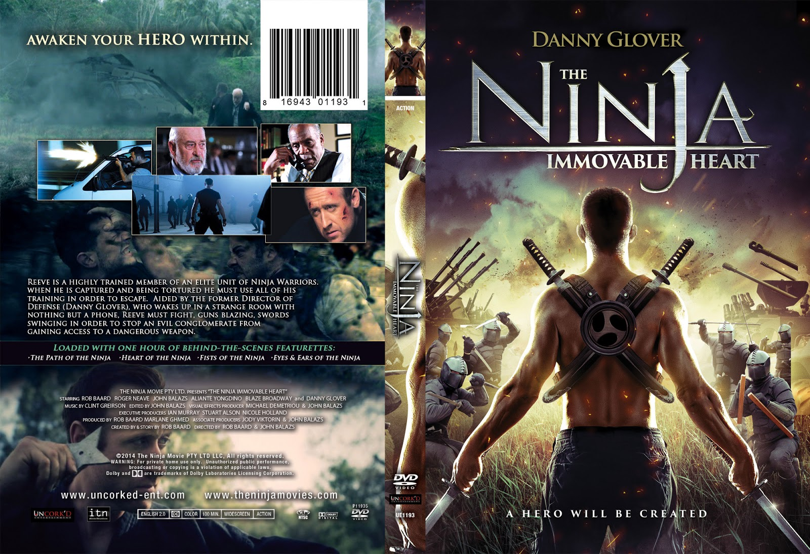 Download Ninja O Guerreiro Imortal DVDRip XviD Dual Áudio ninja immovable heart