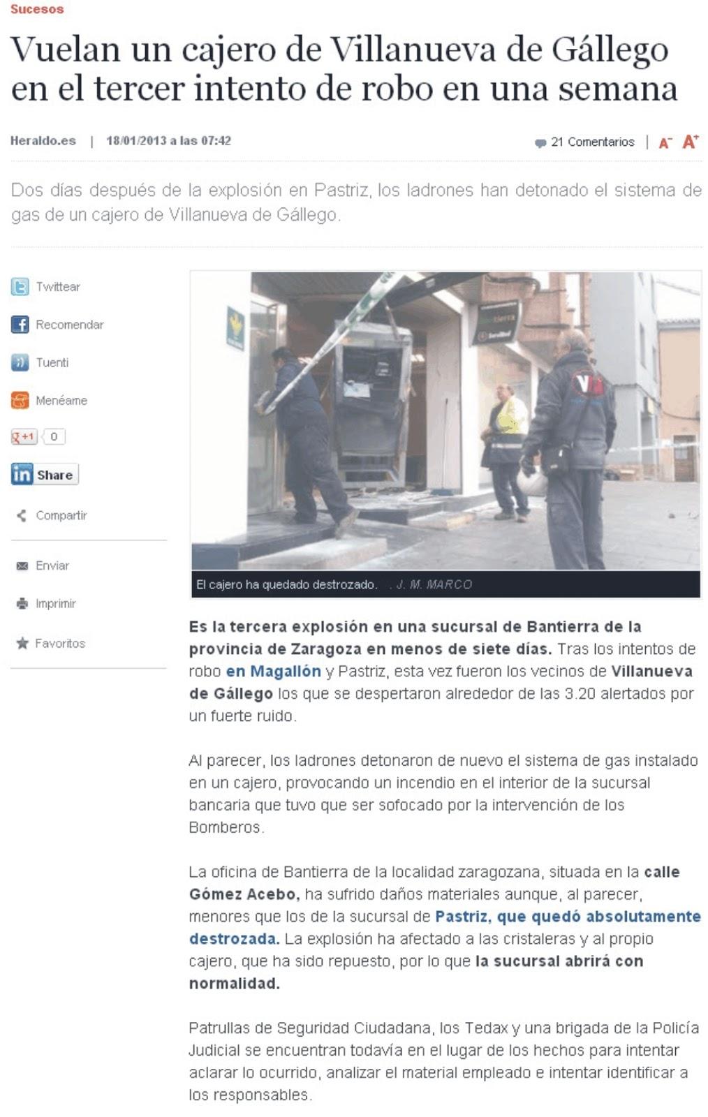 El blog de san mateo de g llego robo en bantierra de for Bankia oficina internet entrar directo