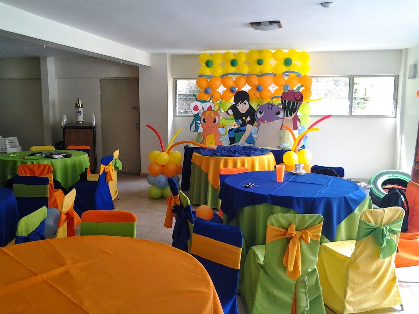 Fiestas Infantiles Decoradas con Bajoterra, parte 1