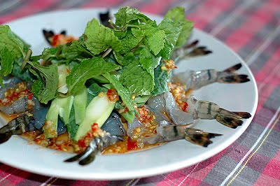 Cooking with fish sauce – Shrimp in fish sauce