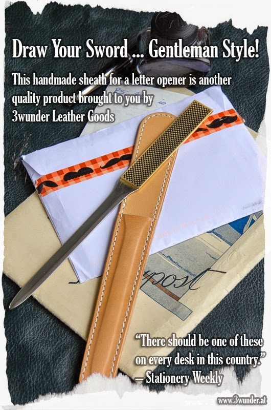 Leather Sheath For Letter Opener by 3wunder