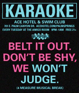 Every Tuesday, join Hostess Kiesha for Ace Karaoke