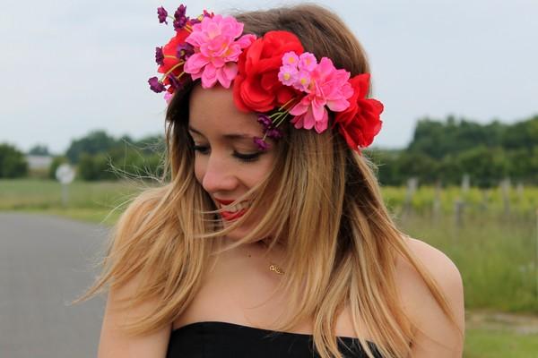 Couronne Headband Fleurs Asos