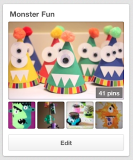 Monster Fun Pinterest board