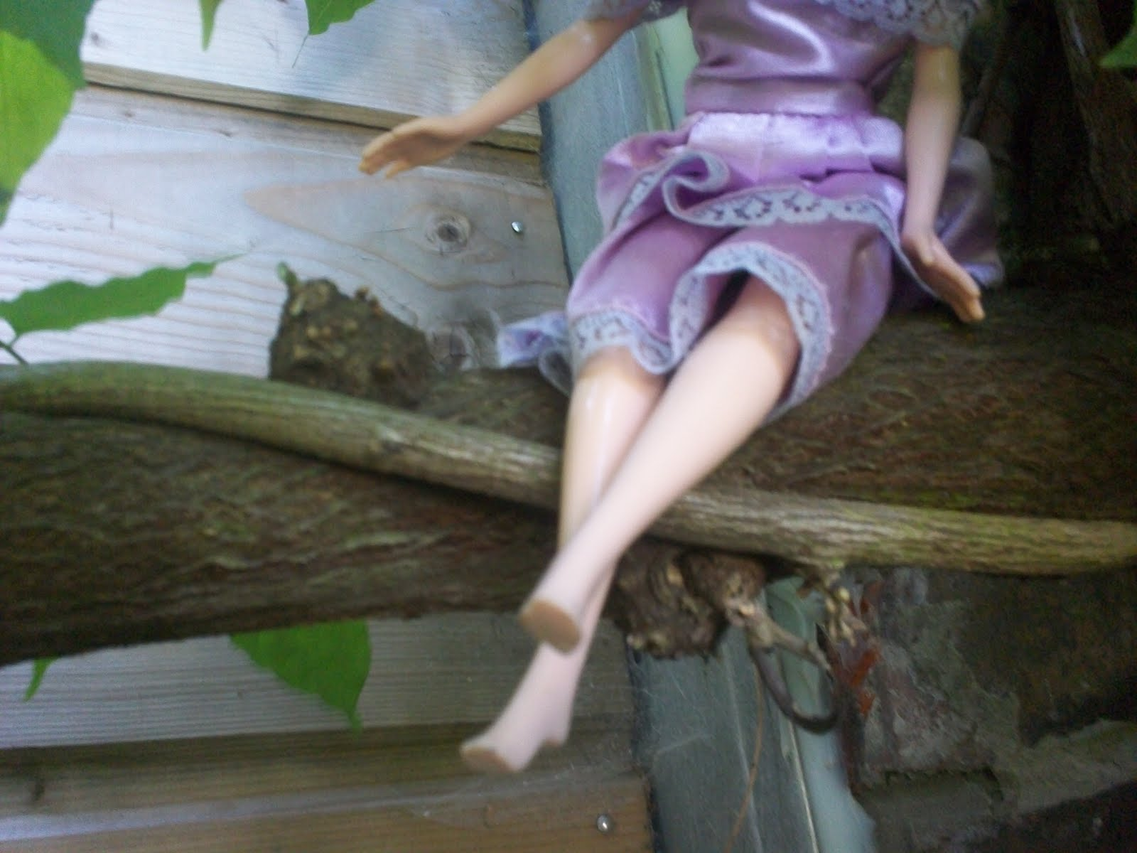 Vinika le jardin des enfances les poup es de l a au jardin for Le jardin de lea