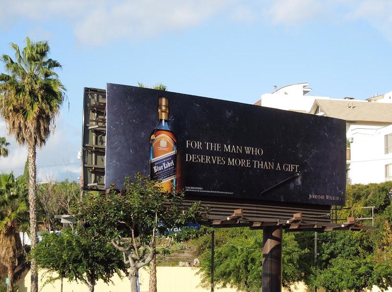 Johnnie Walker Blue Label man deserves more billboard
