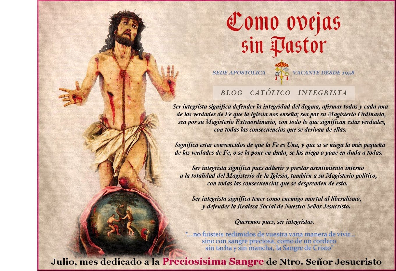 Como ovejas sin Pastor