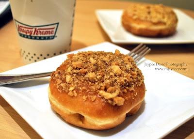 Caramel Apple Pie Doughnut, Krispy Kreme, Marquee Mall