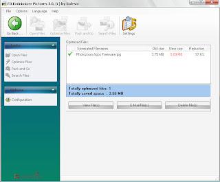 FILEminimizer Pictures Software Compress Gambar Terbaik