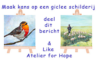 Like en win aktie Facebook Atelier for Hope Doetinchem